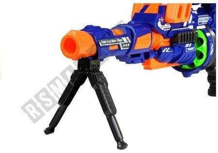 Pistole Spielzeuggewehr Set 12 Schaumstoffkugeln Zielvisier Gewehr