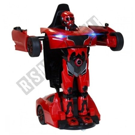 RASTAR RS X MAN Transformer RC Auto Ferngesteuertes 2in1 rot