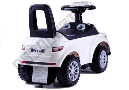 Rutschauto 613W Weiß Fahrzeug für Kinder Sound- und Lichteffekte Baby