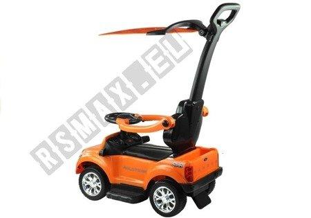 Rutschauto Ford Ranger Wildtrak mit Sonnenschirm Orange Ledersitz