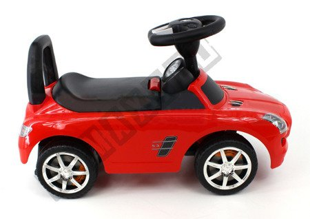 Rutschauto Mercedes-Benz SLS AMG Rutscher Kinderauto Bobbycar Ride On Lizenz