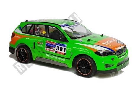 Sportwagen R / C 1:10 2.4G Grün
