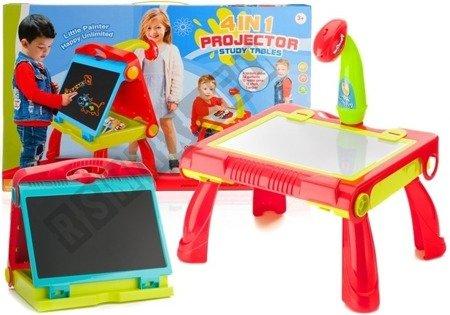 Tafel Zeichenprojektor Filzstift Rot Bilder Spielzeug für Kinder Maltafel Tafel