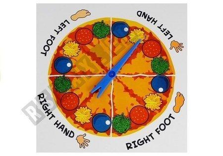 Twister Geschicklichkeit Pizza Spiel für Kinder 4+ Spielzeug Pizza Twist Spiel