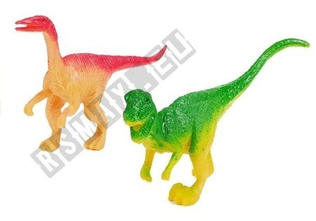 Zestaw Dinozaurów w Słoiku + Akcesoria Diplodok