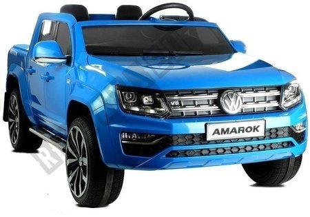 Auto Na Akumulator VW Amarok Niebieski + MP4