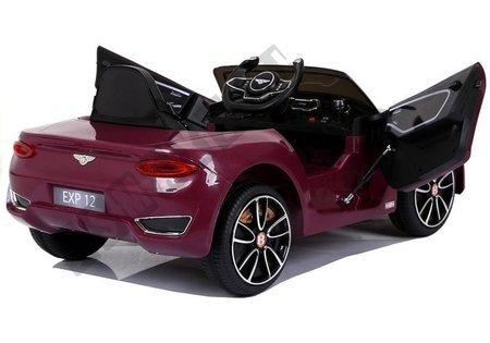Auto na Akumulator Bentley Bordowy Lakier