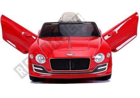 Auto na Akumulator Bentley Czerwony Lakier