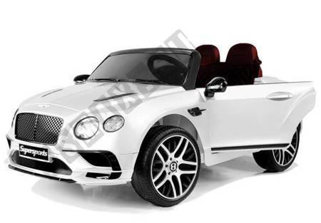 Auto na Akumulator Bentley Supersports JE1155 Biały
