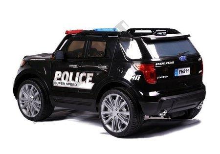 Auto na Akumulator CH9935 Policyjne Czarne