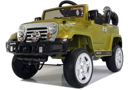 Auto na Akumulator Jeep JJ245 Zielony
