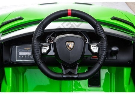 Auto na Akumulator Lamborghini Aventador Zielony