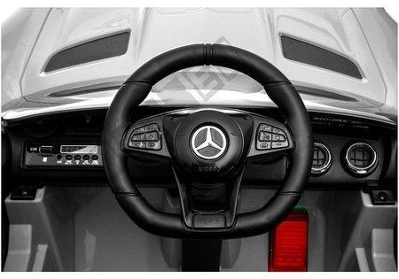 Auto na Akumulator Mercedes GTR Srebrny Lakierowany