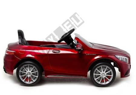 Auto na Akumulator Mercedes S63 Czerwony Lakier
