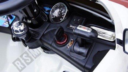Auto na akumulator MASERATI LEVANTE Niebieski VIP