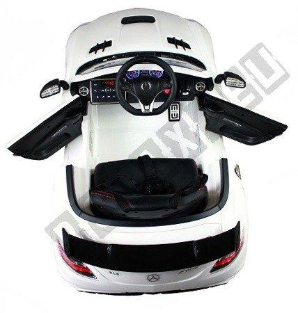 Auto na akumulator Mercedes SLS AMG biały