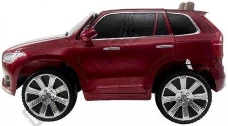 Auto na akumulator Volvo XC90 czerwony lakier !