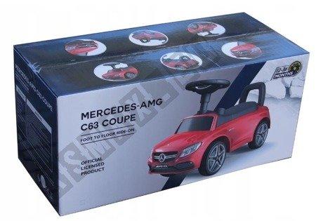 Jeździk Mercedes C63 Coupe pchaczyk biały !