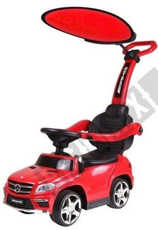 Jeździk  Mercedes GL63 z daszkiem czerwony
