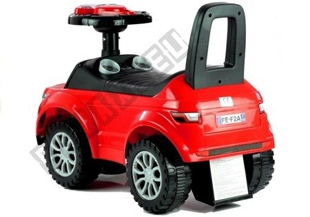 Jeździk dla Malucha 613W Gra + Świeci Czerwony