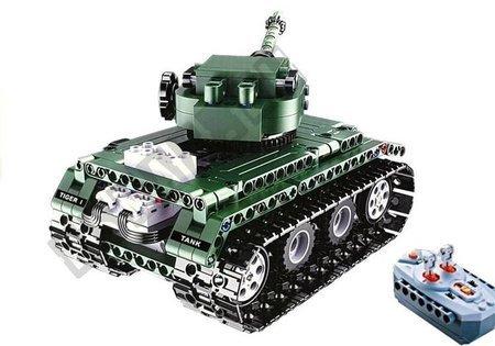 Klocki Konstrukcyjne Cada Czołg RC 313 Elementów