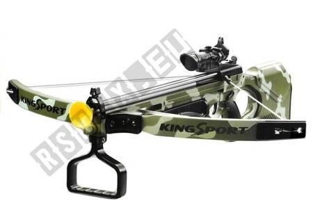 Kusza z Laserem 3 Strzały Na Przyssawki Broń Moro