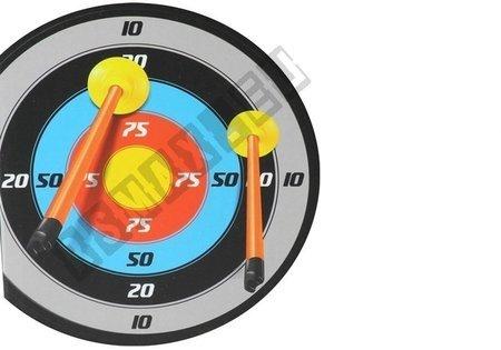 Podświetlany Łuk z Tarczą + Kołczan 3 strzałki