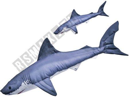 Poduszka przytulanka Rekin - Żarłacz biały zabawka