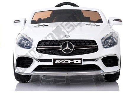 Pojazd na Akumulator Mercedes SL65 LCD Biały