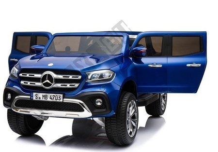 Pojazd na Akumulator Mercedes X Niebieski Lakierowany