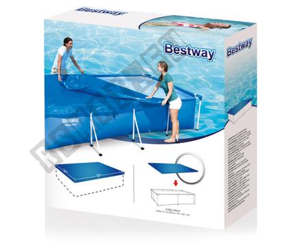 Pokrywa do basenu Stelażowego 400x211 cm Bestway 58107