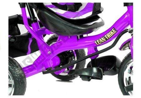 Rower Trójkołowy PRO300 Fioletowy Koła EVA