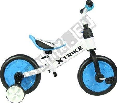 Rowerek biegowy trójkołowy 2w1 XTRIKE niebieski