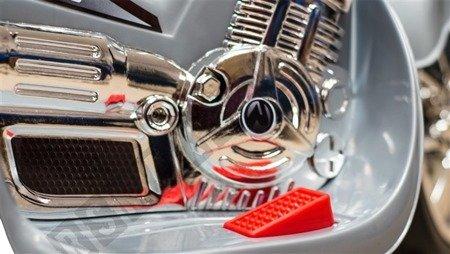 Super motorek dla dzieci na akumulator czerwony