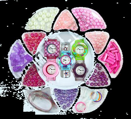 Zestaw Koralików + Zegarki Dla Małej Pięknisi