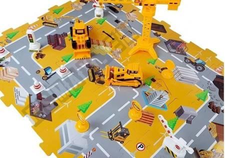 Zestaw Pojazdów Budowy z Napędem Frykcyjnym Plac budowy